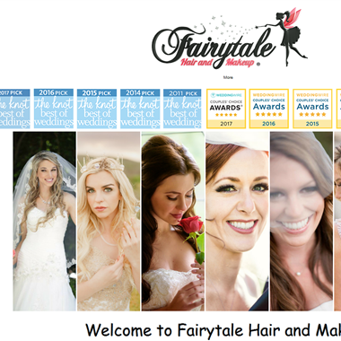Fairytale Hair and Makeup wedding vendor preview