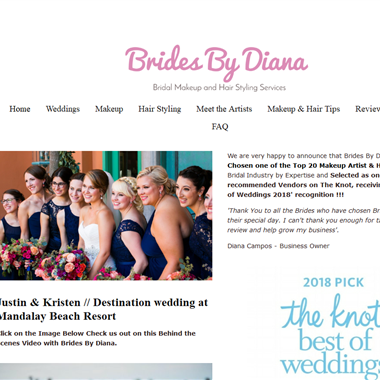 Brides by Diana wedding vendor preview
