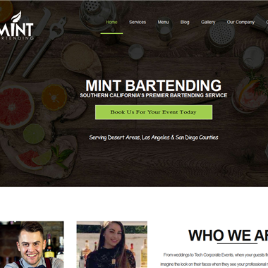 Mint Bartending wedding vendor preview