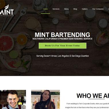 Mint Bartending wedding vendor preview