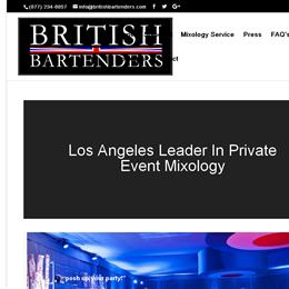 British Bartenders photo