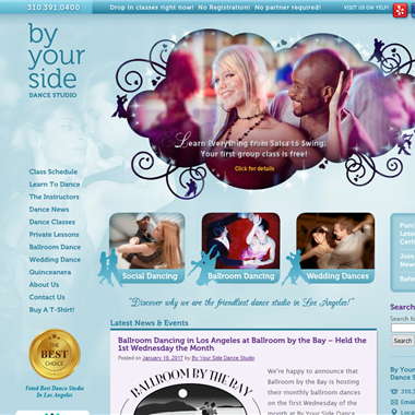 By Your Side Dance Studio wedding vendor preview