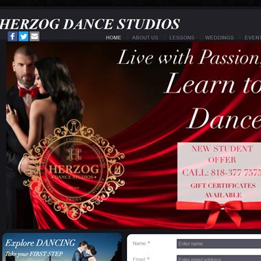 Herzog Dance Studios wedding vendor preview