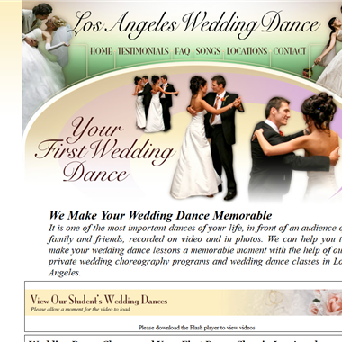 LA Wedding Dance wedding vendor preview