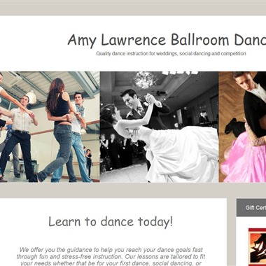 Amy Lawrence Dance wedding vendor preview