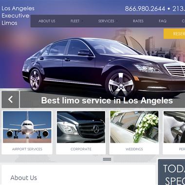LA Executive Limos wedding vendor preview