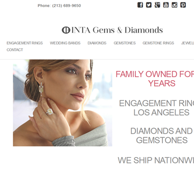 Inta Gems & Diamonds wedding vendor preview