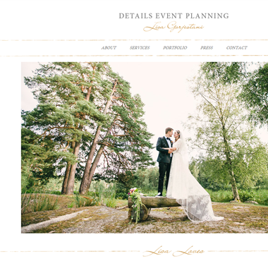 Details Event Planning wedding vendor preview