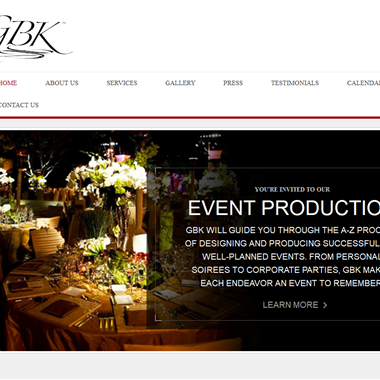 GBK Productions wedding vendor preview