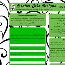 Creative Cake Designs photo