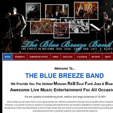 Blue Breeze Band wedding vendor preview