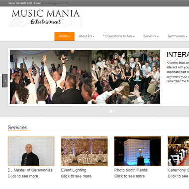 Music Mania Entertainment wedding vendor preview