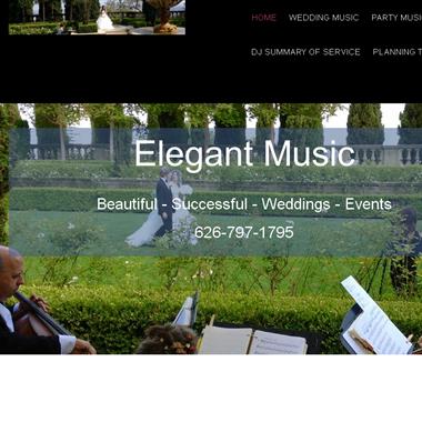 Wedding Music LA CA wedding vendor preview