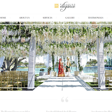 Planning Elegance wedding vendor preview