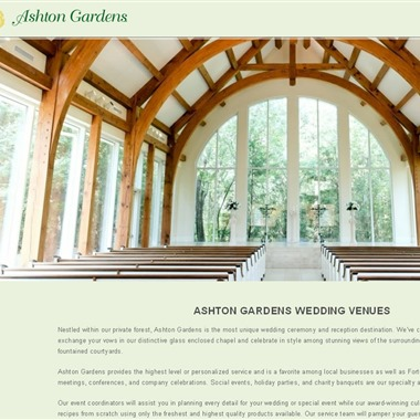 Ashton Gardens wedding vendor preview