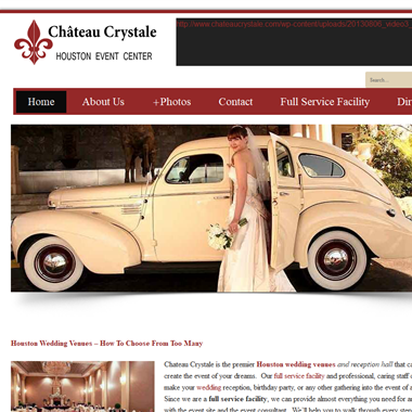 Chateau Crystale wedding vendor preview