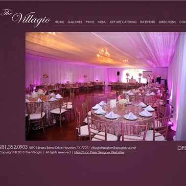 Villagio wedding vendor preview