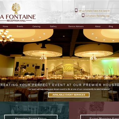 La Fontaine Reception Halls wedding vendor preview
