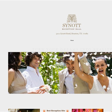 Synott Hall wedding vendor preview