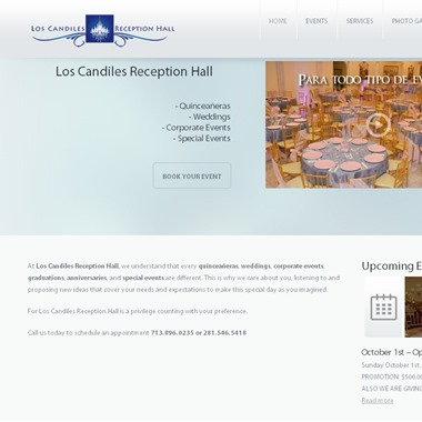 Los Candiles Reception Hall wedding vendor preview