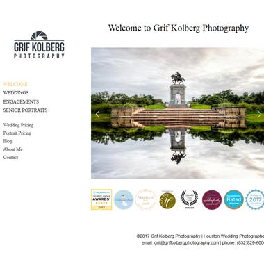 Grif Kolberg Photography wedding vendor preview