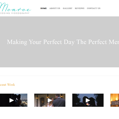 Monroe Productions wedding vendor preview