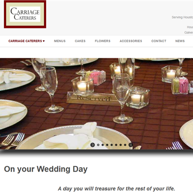 Carriage Caterers wedding vendor preview