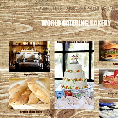 World Catering Bakery wedding vendor preview