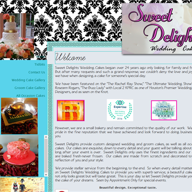 Sweet Delights wedding vendor preview