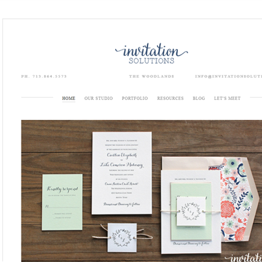 Invitation Solutions wedding vendor preview