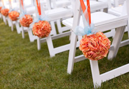 wedding furniture and rentals photo