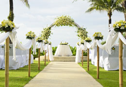 wedding ceremony and reception venue preview